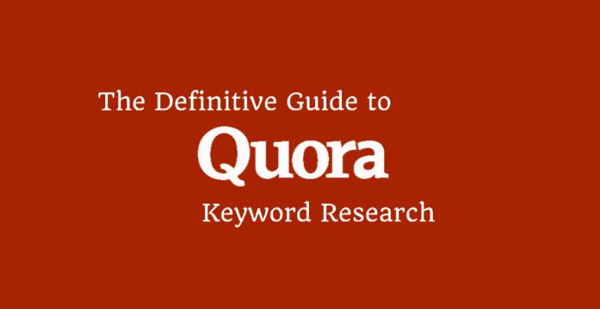 Quora Keyword Research