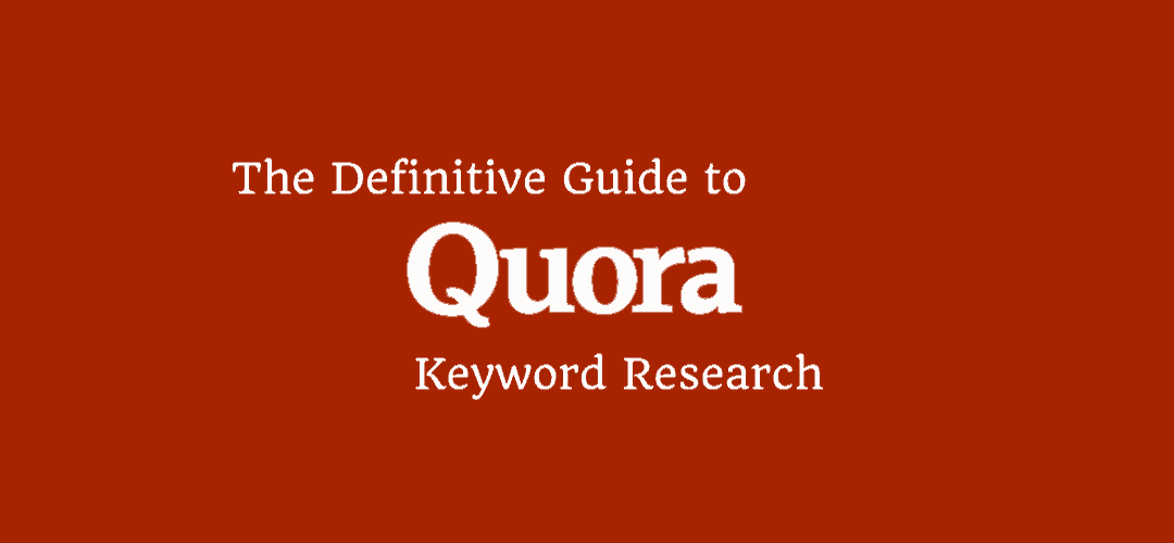 Quora Keyword Research