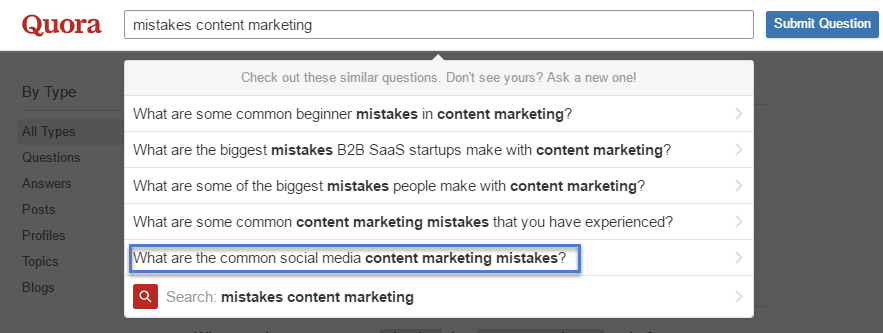 mistakes content marketing