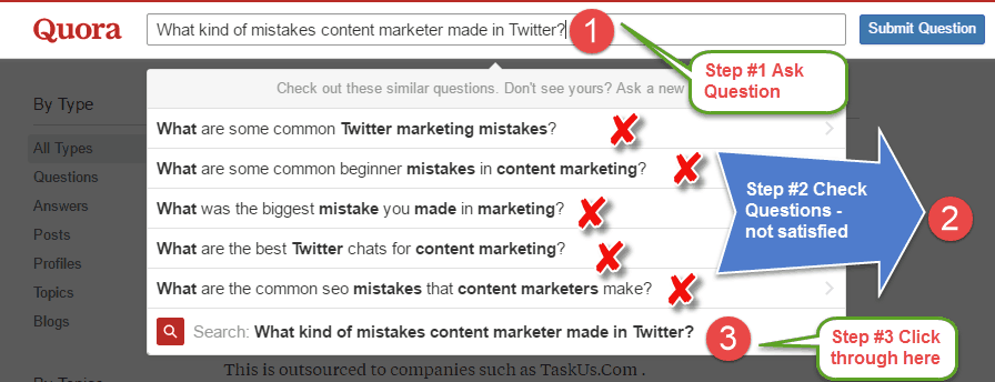 what kind of mistakes content marketer made in Twitter